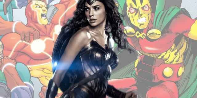 Wonder Woman MIster Miracle