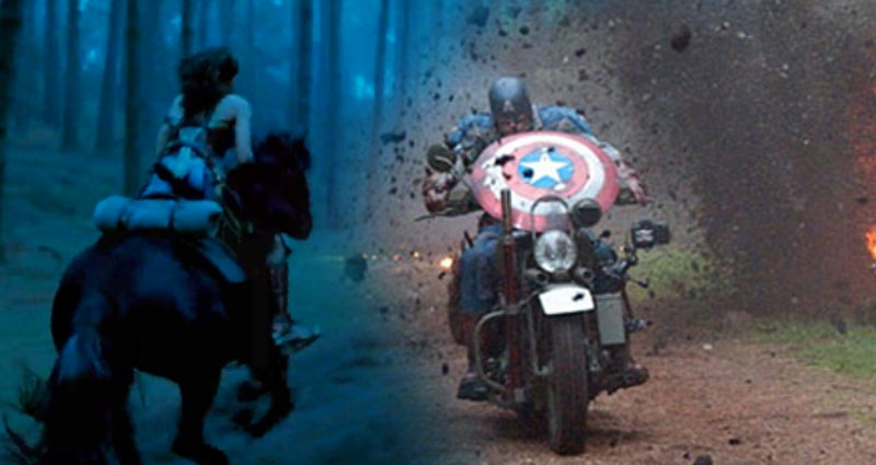 Wonder Woman Movie Captain America First Avenger Battle Scenes