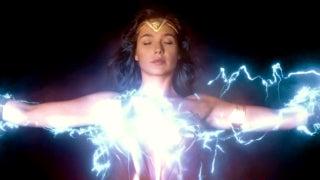 Wonder Woman Movie Zeus Lightning Energy Powers