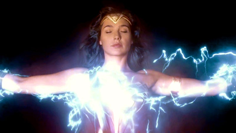Wonder Woman Movie Zeus Lightning Energy Powers
