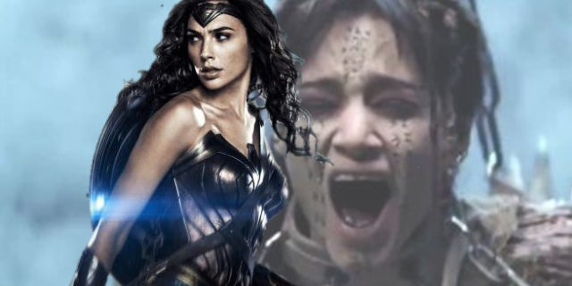wonder woman the mummy