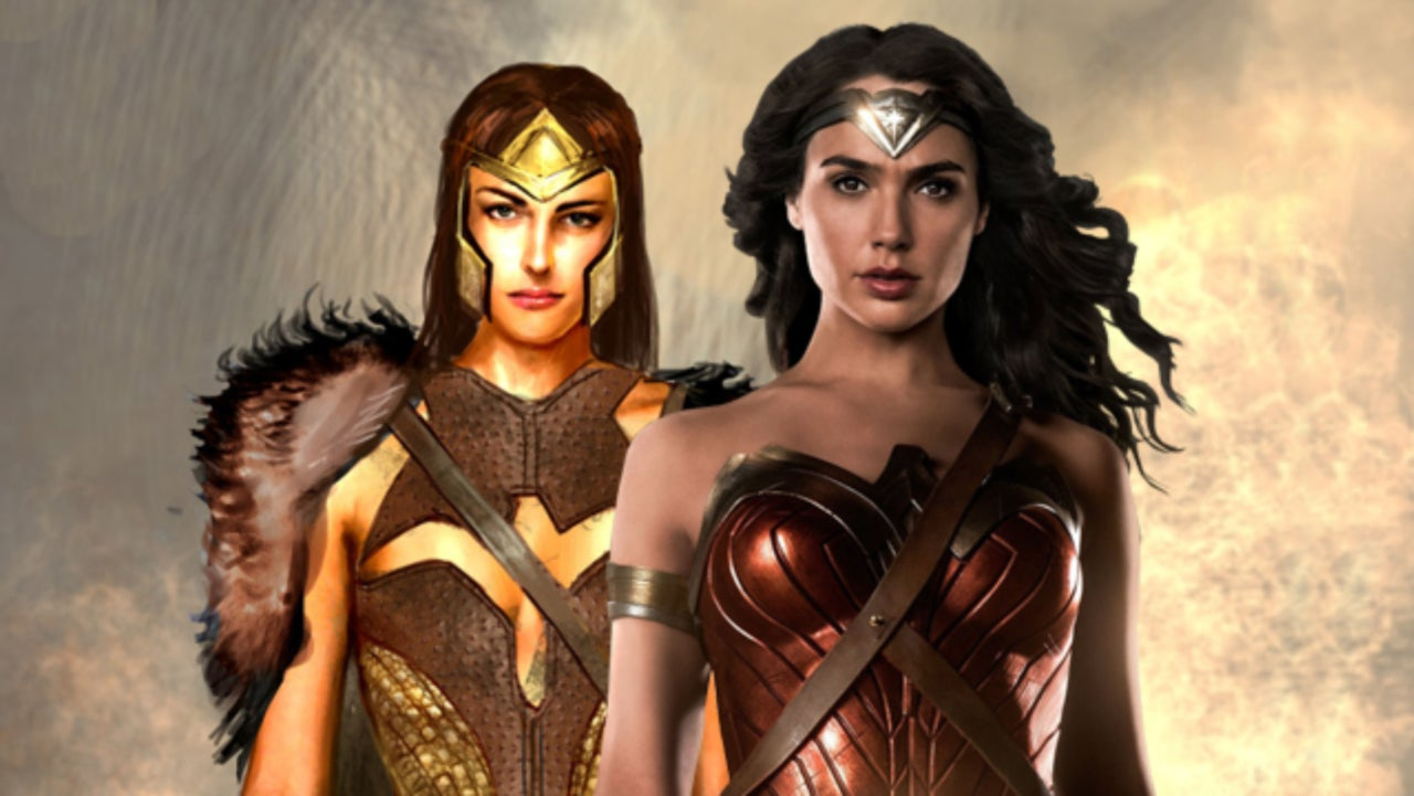 Wonder woman costume illustrations of queen hippolyta and amazon wonder woman costume illustrations of queen hippolyta and amazon guards solutioingenieria Image collections