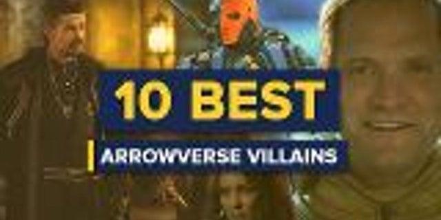 10 Best Arrowverse Villains screen capture