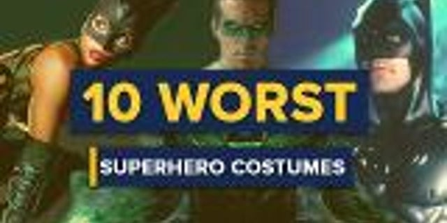 10 Worst Film Superhero Costumes screen capture