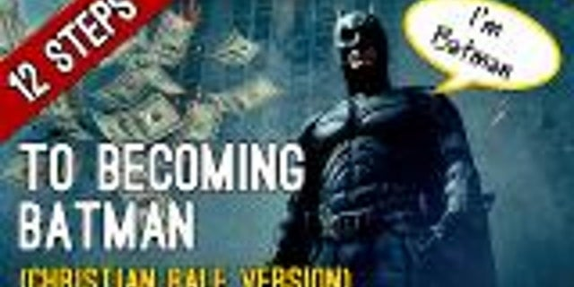 12 Steps to Becoming Batman screen capture