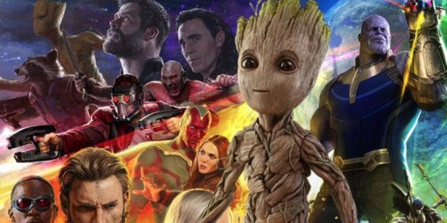 Adolescent Groot Baby Groot Infinity War