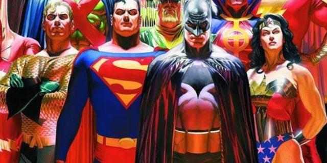 ALex Ross Justice League Poster