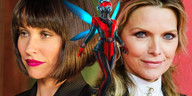 ant man and the wasp evangeline lilly michelle pfeiffer