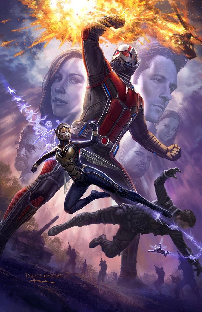 Image result for ant man and the wasp, poster