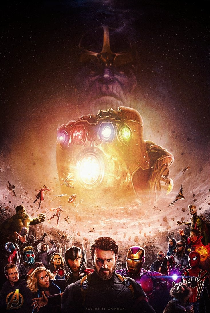 avengers  infinity war  2018   poster by camw1n-dbhwbei