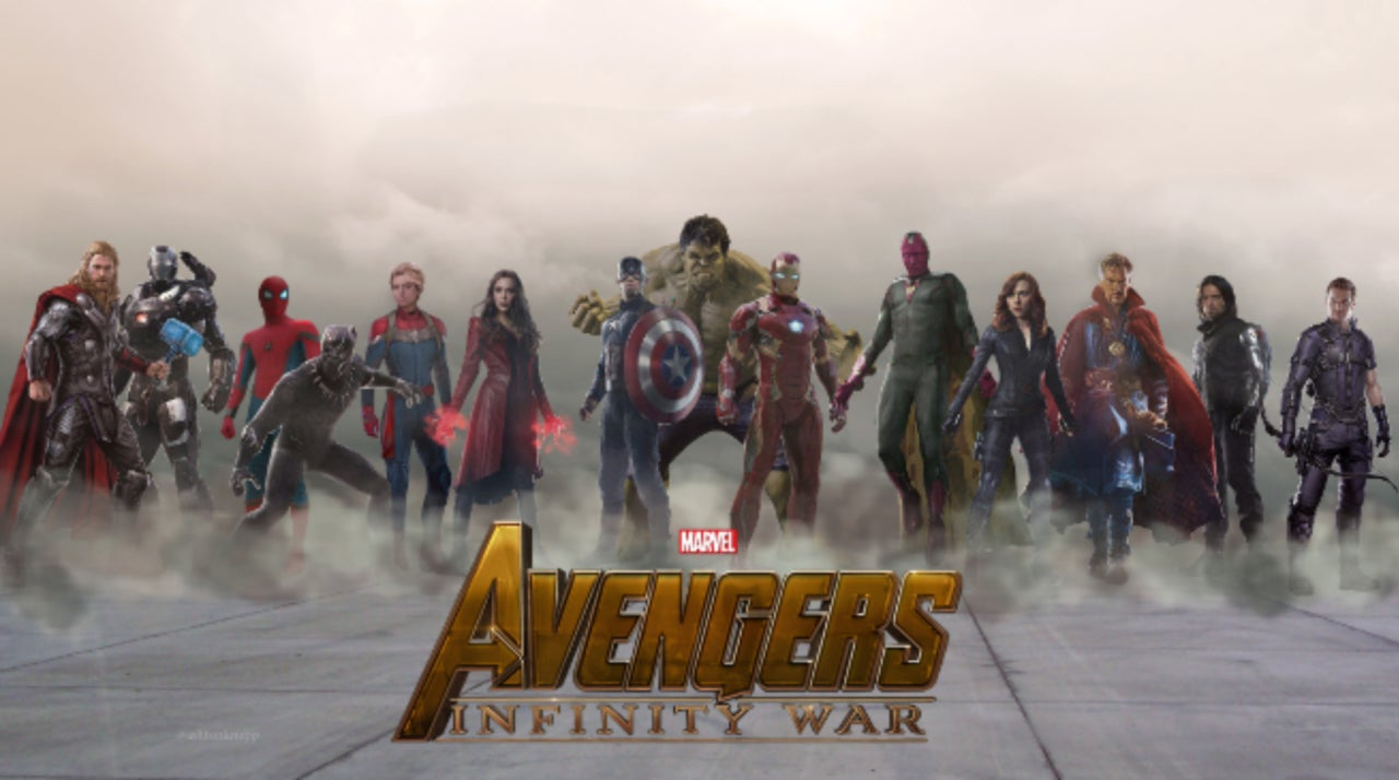 avengers: infinity war has officially wrapped production
