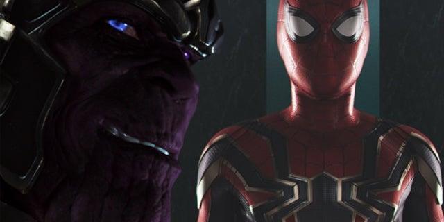 avengers infinity war iron spider