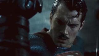 Batman v Superman Moustache Edition