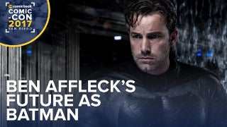 Ben Affleck's Future As Batman screen capture