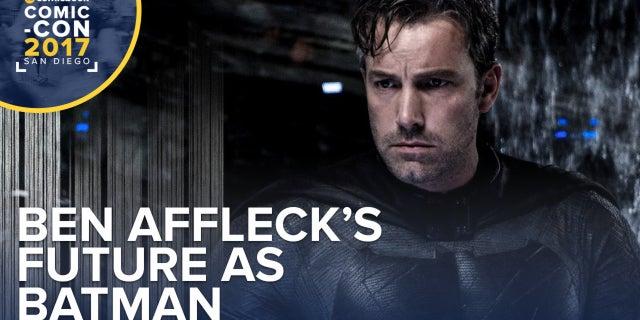 Ben Affleck's Future As Batman screen capture