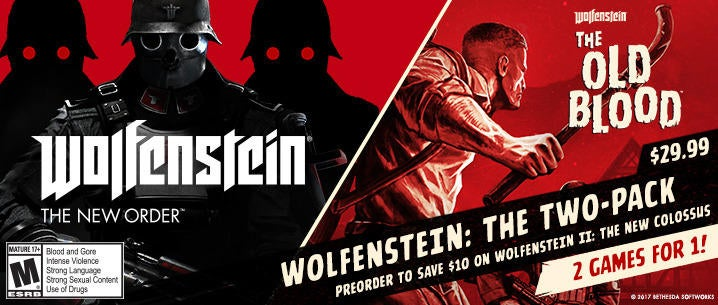 Wolfenstein Getting A Special Two Pack Deal Next Month