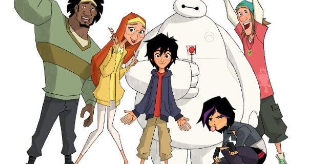 big hero 6 animated series disney channel season 2