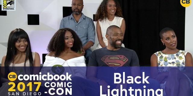 Black Lightning Cast Talks Black Lightning's Costume screen capture