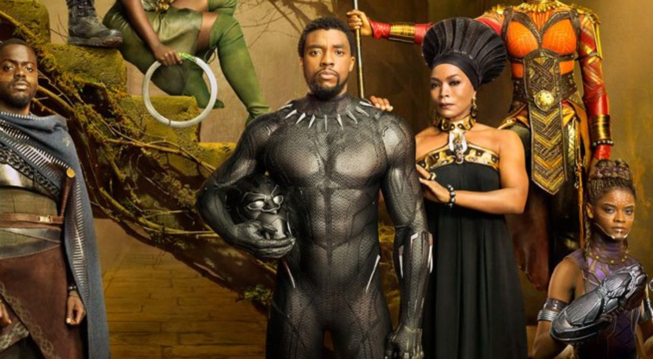 Image result for image of Black Panther film