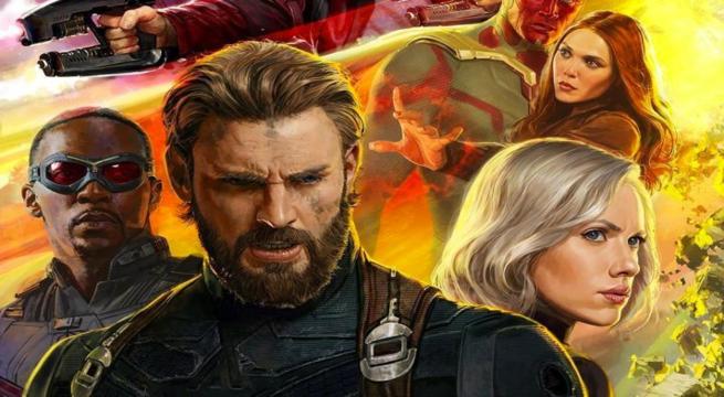 Captain America Infinity War
