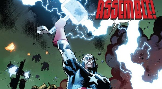 All The Times Captain America Has Lifted Thor's Hammer