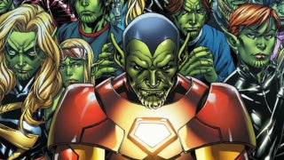 Captain Marvel Skrulls Marvel Cinematic Universe
