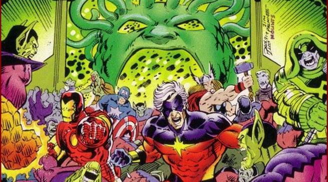 Captain Marvel What Is The Kree Skrull War
