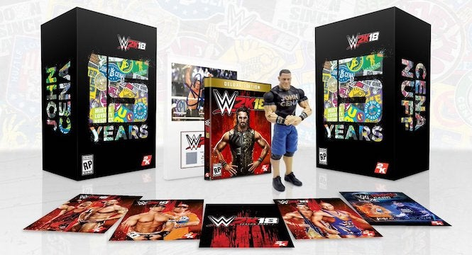 WWE 2K18 Collector's Edition Revealed Featuring John Cena