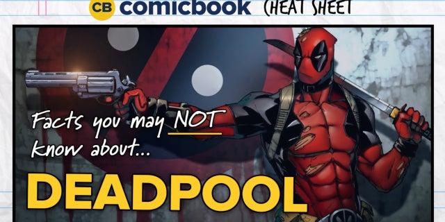 ComicBook Cheat Sheet: Deadpool screen capture
