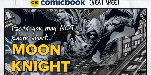ComicBook Cheat Sheet: Moon Knight screen capture