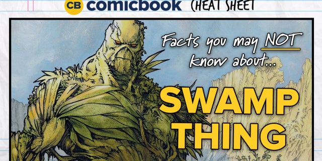 ComicBook Cheat Sheet: Swamp Thing screen capture
