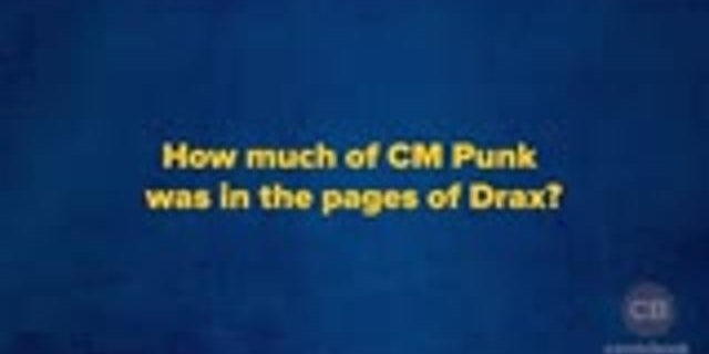 ComicBook Presents: CM Punk Exclusive Interview screen capture