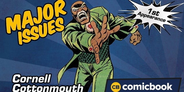 Cornell Cottonmouth's First Appearance - Major Issues screen capture