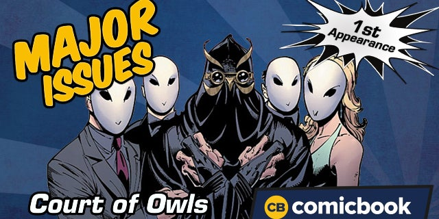 Court of Owls' First Appearance - Major Issues screen capture