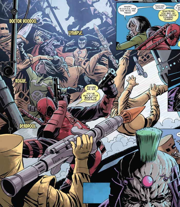 Deadpool Kills The Marvel Universe Iron Man Who And Why Does Deadp...