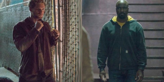 Defenders Luke Cage Iron Fist