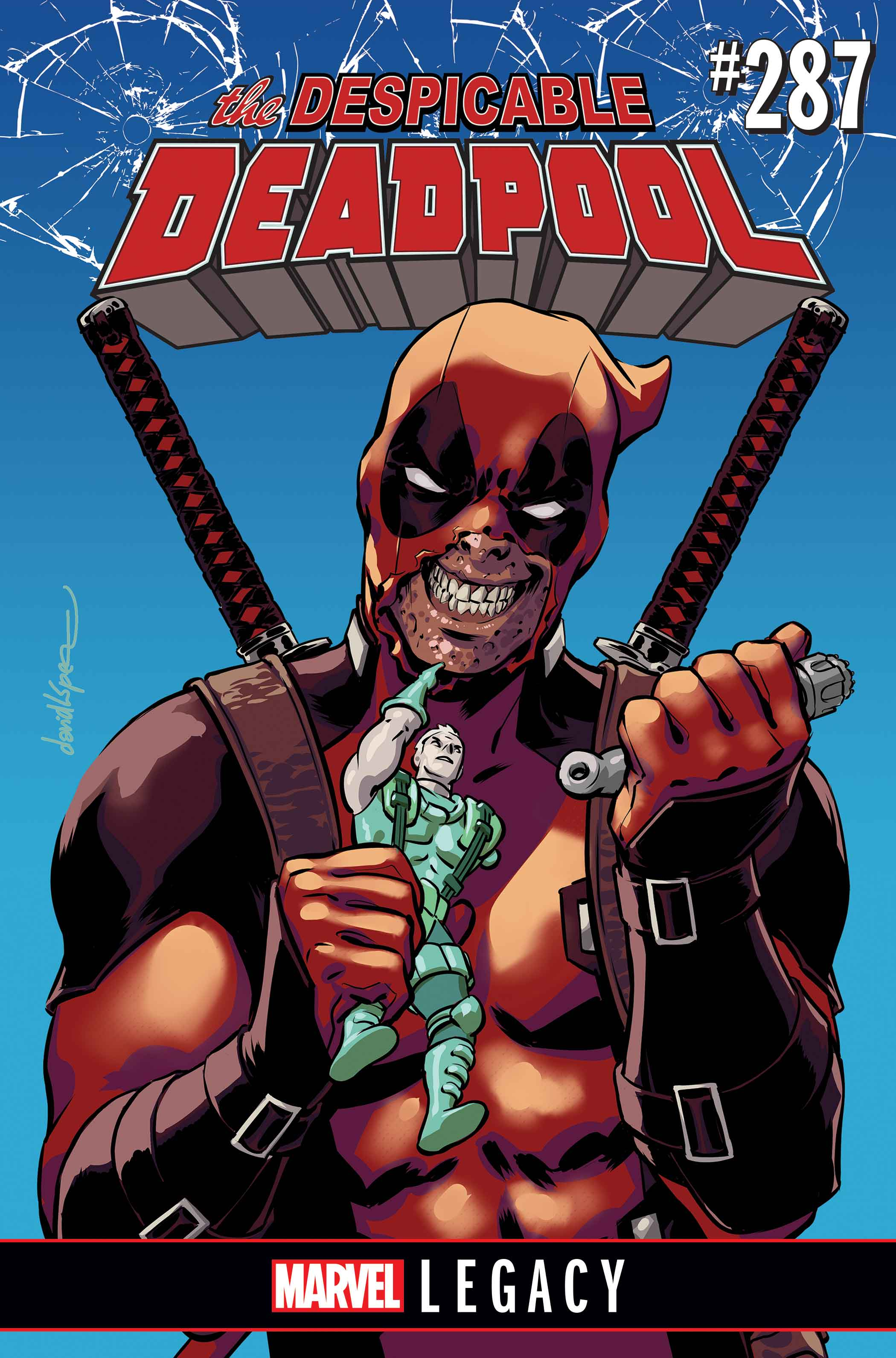 DESPICABLE DEADPOOL LEGACY CVR