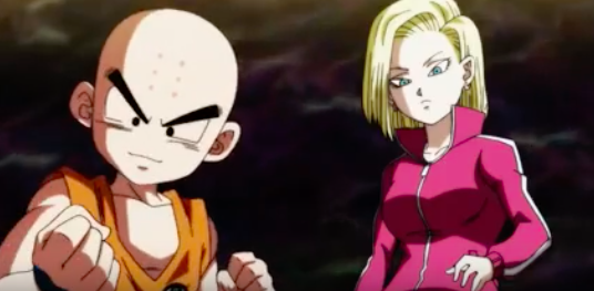 Dragon Ball Super Reveals Krillin Amp Android 18 S New Tag
