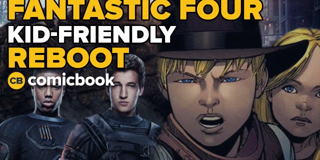 Fantastic Four Reboot Reportedly In The Works screen capture
