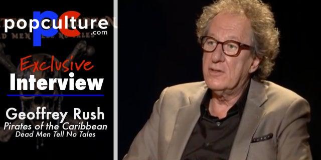 Geoffery Rush Talks Pirates 5 screen capture