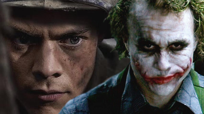 harry styles heath ledger joker