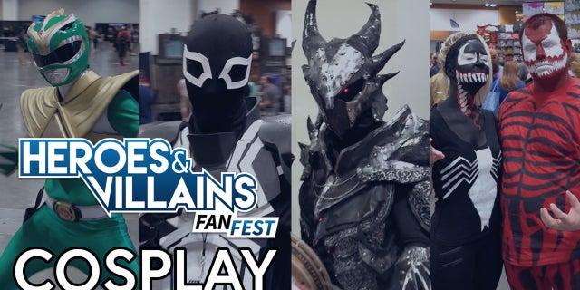 Heroes & Villains Fan Fest Cosplay screen capture
