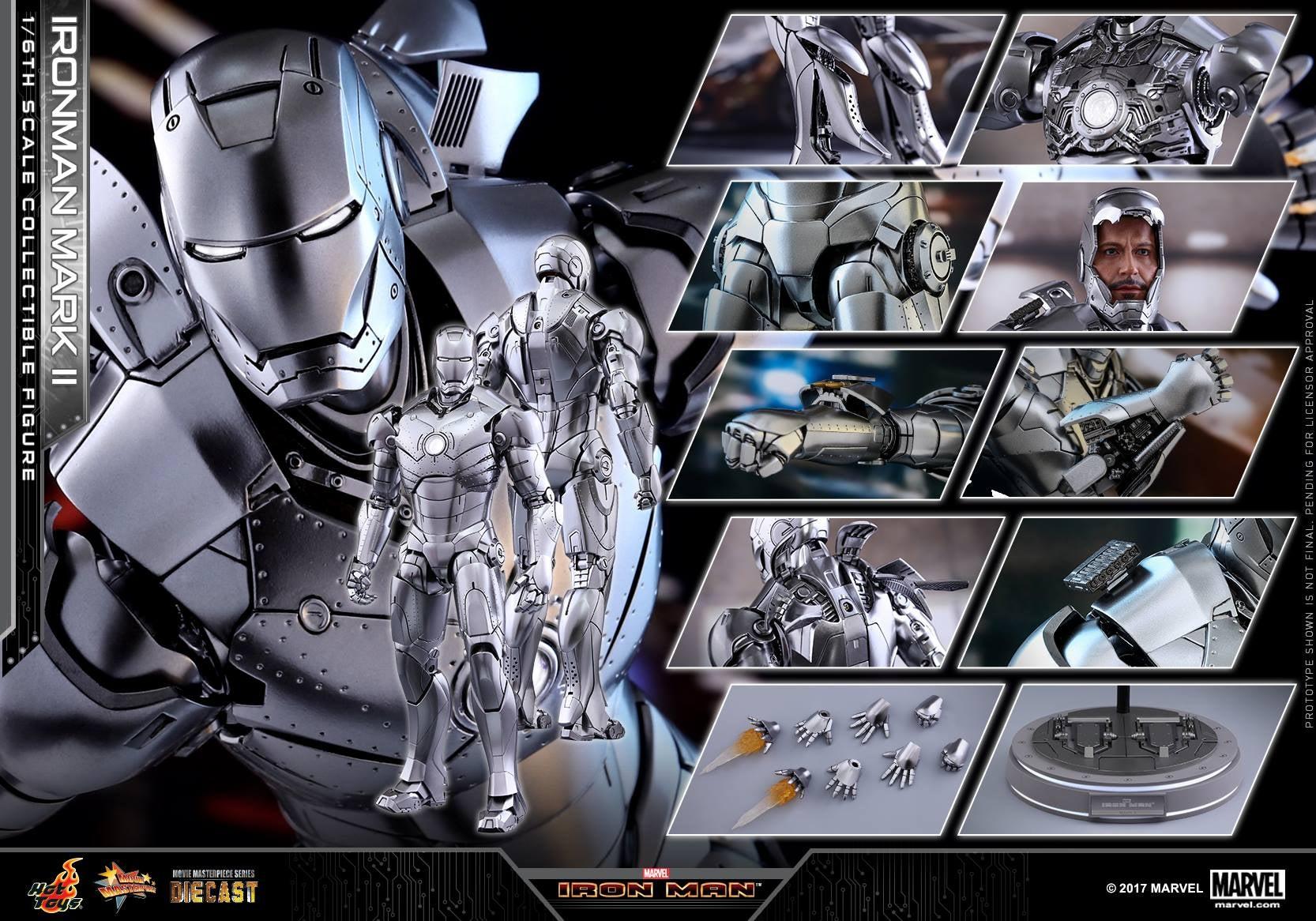 Hot Toys Iron Man Mark Ii 42