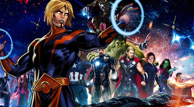 Infinity War Art