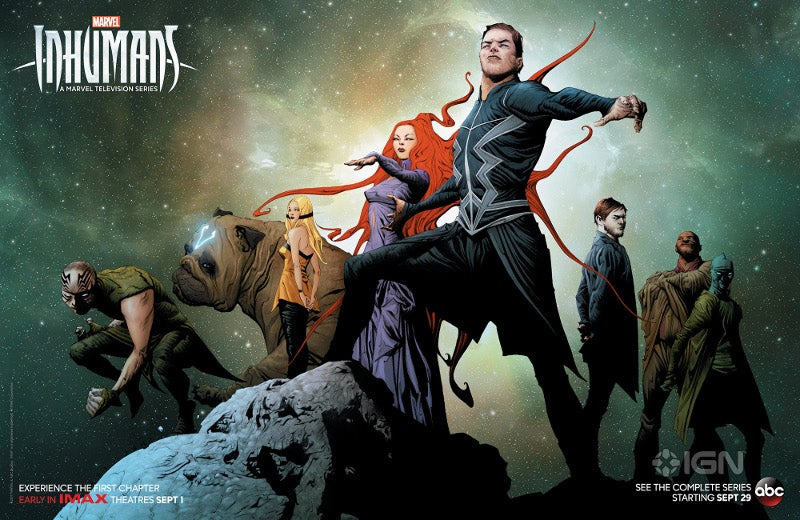 Marvel's Inhumans Unveils SDCC Poster By Jae Lee