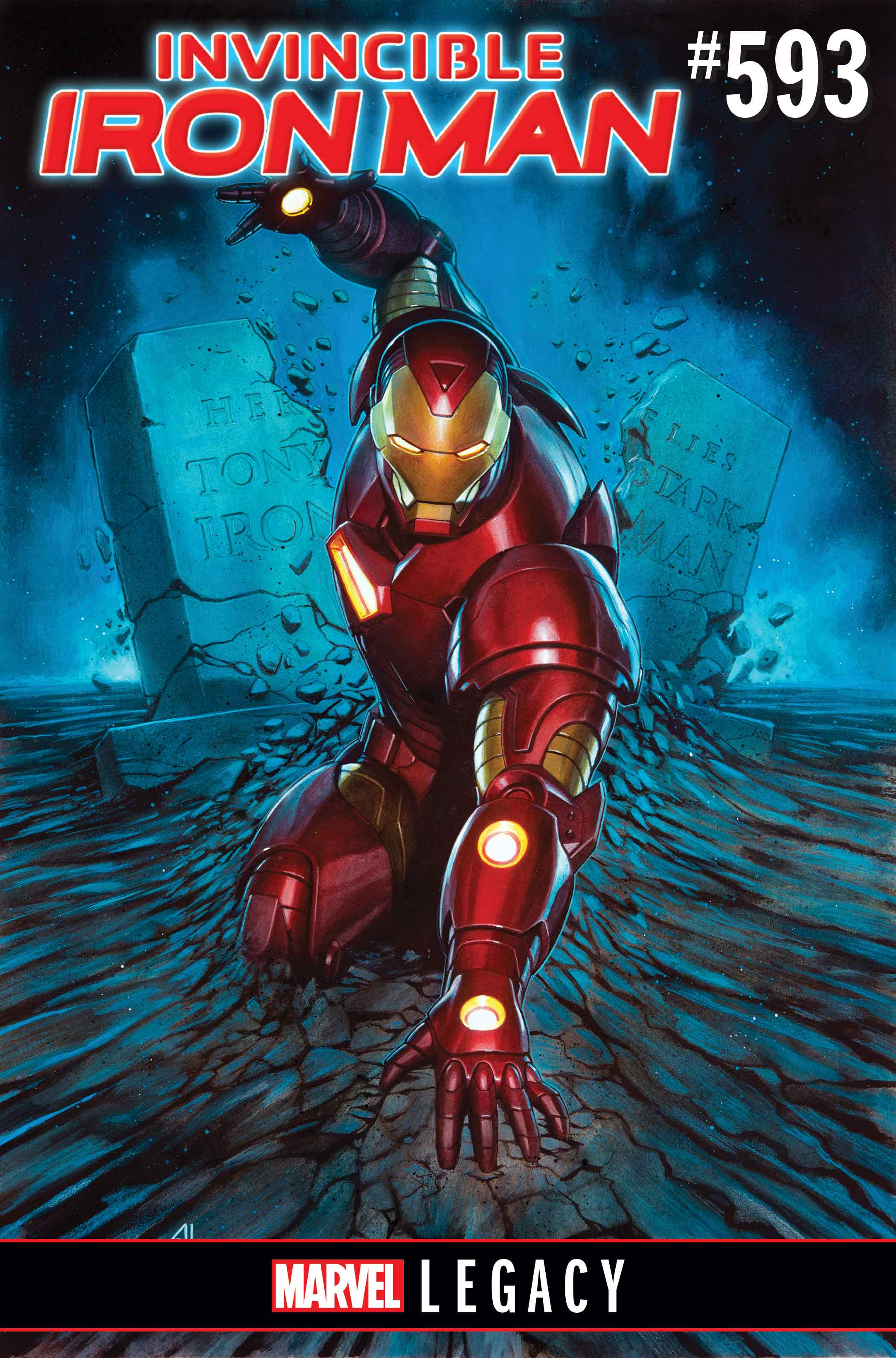 INVINCIBLE IRON MAN LEGACY CVR