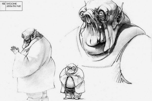 jabba the hutt concept art