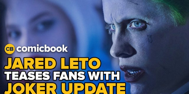 Jared Leto Teases Fans With Joker Update screen capture