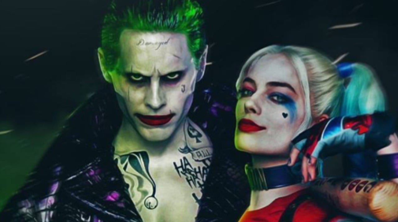 Pictures of the joker and harley for Joker immagini hd