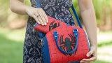 jrsj spider man duffel purse inuse
